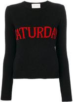 Alberta Ferretti Saturday jumper - women - Cotton/Cashmere/Virgin Wool - 38