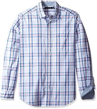 Nautica Men's Plaid Classic Fit Casual Shirt