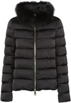 Herno Faux Fur Collar Padded Jacket