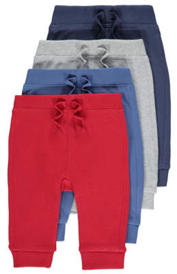 George Joggers 4 Pack
