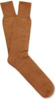 Marwood - Mohair-blend Socks