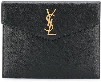 Saint Laurent Monogram envelope clutch bag