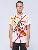 Iceberg Multi Color Lines S/S T-Shirt