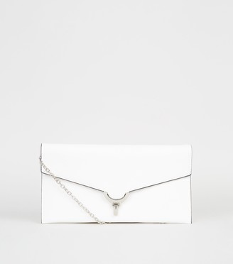 New Look Leather-Look Clutch Bag