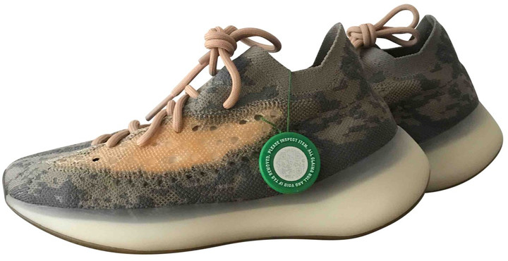 Yeezy X Adidas Boost 380 Beige Cloth Trainers