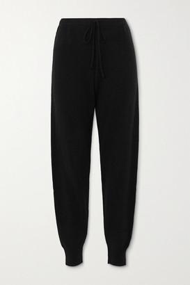 Madeleine Thompson Working Girl Cashmere Track Pants - Black