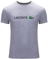 Lacoste New 2016 For Men's Printed Short Sleeve tops T-shirts