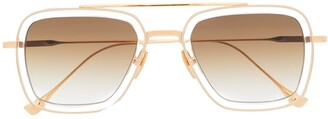 Dita Eyewear Gradient Square Sunglasses