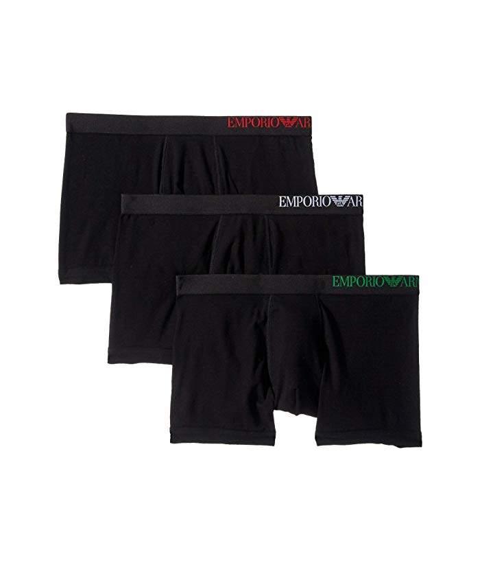 Emporio Armani B-Side Logo Boxer Briefs