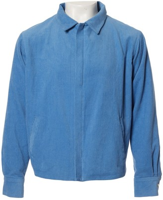 The Elder Statesman Blue Cotton Jackets