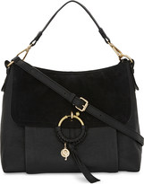 See by Chloe Hoop leather & suede shoulder bag