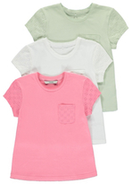George 3 Pack Assorted Crochet Tops