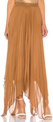L'Academie The Vedette Midi Skirt