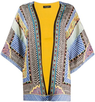 Etro Silk Embroidered Cardigan