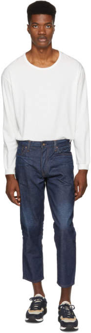 Levi's Levis Made And Crafted Levis Made and Crafted Indigo Draft Taper Jeans