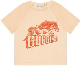 Gucci Baby XXV horse print T-shirt