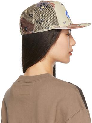 Awake NY Tan Classic Logo Trucker Hat