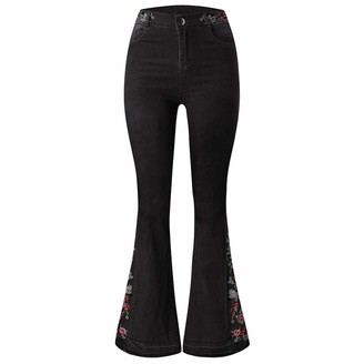 AMhomely Women's 311 Shaping Skinny Jeans Womens Mid Waisted Stretchy Skinny Jeans Ladies Jeggings Pants New Ladies Womens Girls Super Stretchy Jegging Jeans UK Size 8-27 Black