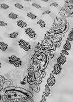 Mango Outlet Paisley print scarf