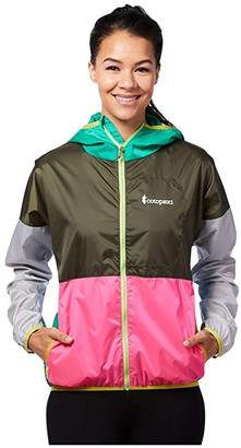 Cotopaxi Teca Windbreaker Full Zip (Lily Pad) Coat