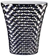 "Rosenthal Vibrations 13.25"" Oval Vase, Platinum by"