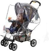 Jeep J is for Standard Stroller Weather Shield,Baby Rain Cover, Universal Size, Waterproof, Water Resistant, Windproof, See Thru, Ventilation, Clear, Plastic, Protection, Shade, Umbrella, Pram, Vinyl, Double