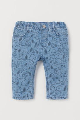 H&M Patterned jeans