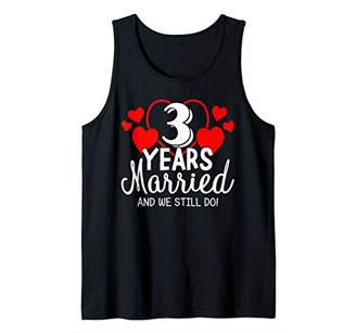 His/Hers 3rd Anniversary Shirt We Still Do Matching Couple Tank Top
