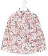 Cashmirino Batik printed shirt