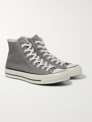 Mens Grey High Top Converse | Shop the