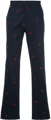 Gieves & Hawkes Embroidered Chinos