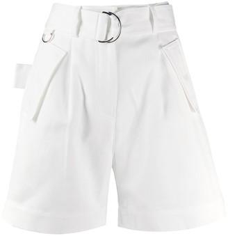 MSGM High Waisted Shorts