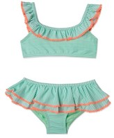 Hula Star Girl's 'Sailor Stripe' Two-Piece Swimsuit