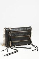 'Mini 5 Zip' Convertible Crossbody Bag