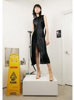 Helmut Lang Ruched Silk Dress