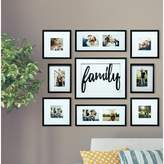Darby Home Co Broderick 9 Piece Family Decor Picture Frame Set