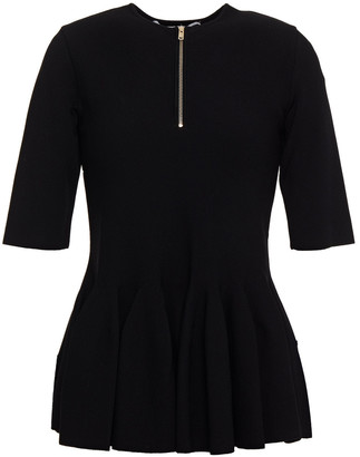 Stella McCartney Ponte Peplum Top