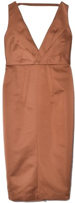 No.21 Dress in Pale Brown