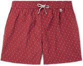 Loro Piana - Key West Mid-Length Printed Swim Shorts