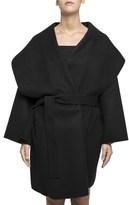 Bottega Veneta Women's Black Cashmere Coat.