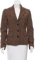 Dolce & Gabbana Wool Tweed Blazer