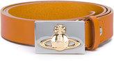 Vivienne Westwood logo embossed belt