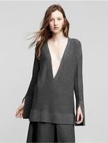 Calvin Klein Collection Cashmere V Neck Sweater