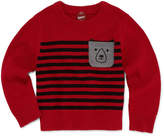 Arizona Crew Neck Long Sleeve Knit Pullover Sweater - Toddler