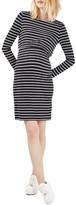 Topshop Women's Stripe Nursing/maternity Dress