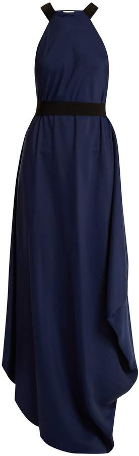 Maison Rabih Kayrouz Tie-waist draped dress