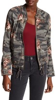 Democracy Floral Camo Bomber Jacket