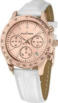 Jacques Lemans Women's Analogue Watch with Pink gold Dial Analogue Display - 3316243