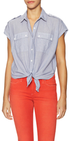 Joe's Jeans Olivia Cotton Patch Pocket Top