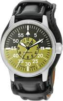 Fortis Men's 595.11.16 L.01 Flieger Cockpit Olive Self-Wind Black Stainless Steel Watch